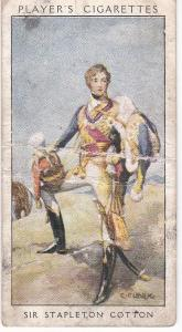 Cigarette Card Player's Dandies No 26 Sir Stapleton Cotton