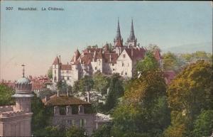 Neuchatel Le Chateau Suisse Switzerland