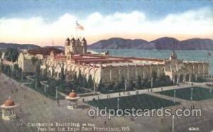 California State Building 1915 Panama International Exposition, San Francisco...