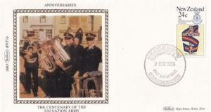Salvation Army Benhams New Zealand First Day Cover