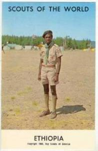 Boy Scouts of the World, ETHOPIA SCOUTS, 1968