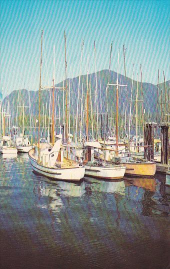 Fishing Boats, Vancouver Island, British Columbia, Canada, 40-60´s