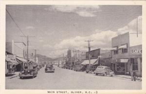Main Street , OLIVER , B.C. , Canada , 30-40s