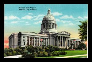 JEFFERSON CITY MISSOURI STATE CAPITOL BUILDING