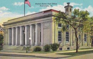 HARRISBURG, Illinois, 1930-1940s; United States Post Office