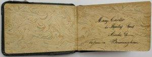 Vintage Interwar Autograph Book W/ Sketches Inc Bonzo, Felix The Cat