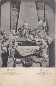 Strassburg, Mansoleum des Marschall Moritz von Sachson in der Sankt-Thomaskir...