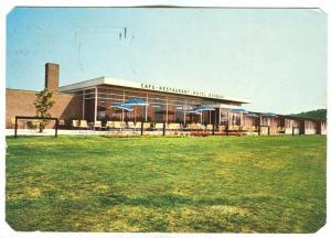 Netherlands, Café Restaurant Motel BRABANT, Breda, 1973 used Postcard