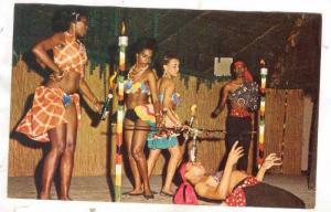 Limbo under fire, Freeport , Lucaya, Grand Bahamas Island , 40-60s