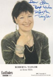 Roberta Taylor Eastenders BBC Hand Signed Cast Card Photo