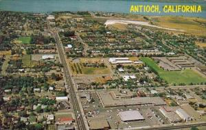 California Antioch Birds Eye View Indicates Recent Growth And Expansion In Th...