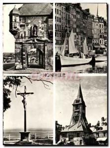 Modern Postcard Honfleur Lieutenancy Les Vieilles Maisons du Quai