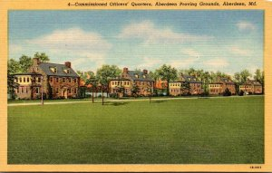 Maryland Aberdeen Proving Grounds Commissioned Officers' Quarters Curteich