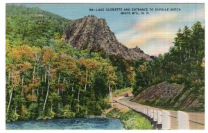 Lake Gloriette And Entrance To Dixville Notch, White Mts., N.H.