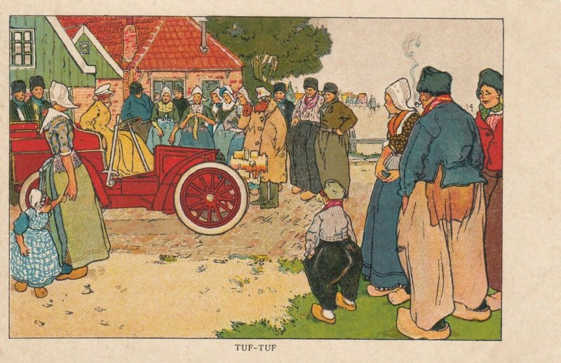 TUF-TUF, Netherlands , 1890s-1907 ; Arrival of 1st Automobile