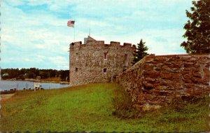 Maine Pemaquid Beach Fort William Henry