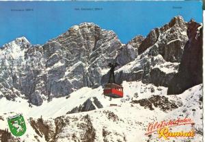 Austria, Dachstein-Sudwand-Selibahn 1969 used Postcard