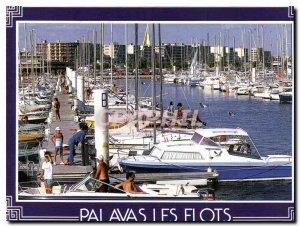 Modern Postcard Palavas Port