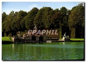 Modern Postcard Chateau Beloeil Neptune Group