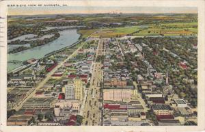 AUGUSTA, Georgia, PU-1926; Bird's Eye View