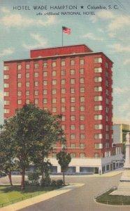 COLUMBIA , South Carolina , 30-40s ; Hotel Wade Hampton