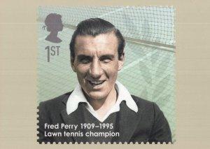 Fred Perry PHQ Lawn Tennis Wimbledon Champion Postcard