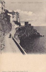 AMALFI, Hotel Luna e Castello medioevale, Campana, Italy, 00-10s