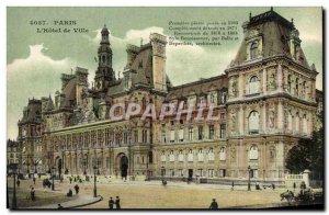 Old Postcard Paris L & # 39Hotel City