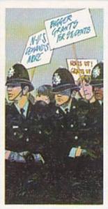 Brook Bond Tea Vintage Trade Card Police File 1977 No 38 Demo