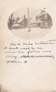 RP: Miss Miller's Home , ORILLIA , Ontario , Canada , PU-1908
