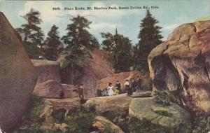 Colorado Mount Manittou Stage Rocks Scenic Incline Ry 1909