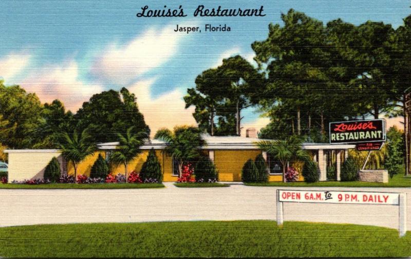 Florida Jasper Louise's Restaurant