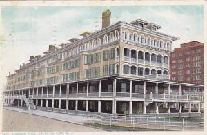 Exterior, Haddon Hall,  Atlantic City, New Jersey,   PU-1916