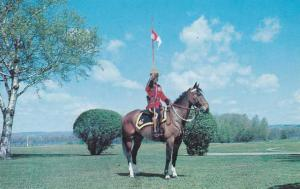 Greetings from Goderich, Ontario, Canada - Mounted Police on Horse