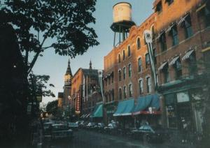 Trappers Alley Greektown Detroit USA Postcard