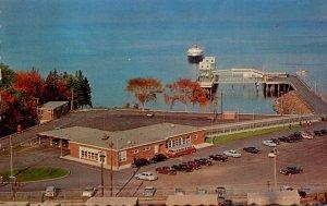 Maine Bar Harbor M V Bluenose Of The Yarmouth Nova Scotia Line Approaching Th...