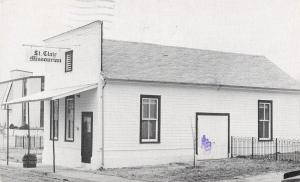 St Clair Missouri~Panhorst Feed Store~1998 Postcard