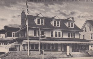 OCEAN CITY, New Jersey, PU-1957; Plymouth Inn on Atlantic Avenue