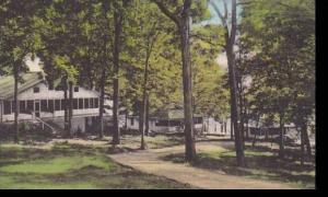 Virginia Harrisonburg South Cottage Row Massanetta Springs Station Handcolore...