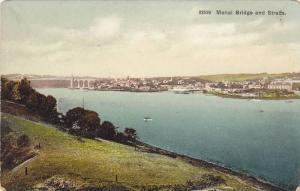Menai Bridge and Straits, Anglesey, Wales, United Kingdom, 10-20s