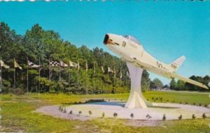 South Carolina Beaufort Fighter Jet At Main Entrance To U S Marine Corps Air ...