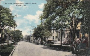 MOBILE, Alabama, PU-1911; St. Joseph Street