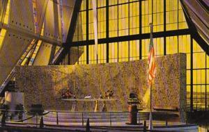 Colorado Colorado Springs Organ In The Protestant Chapel U S Air Force Academy