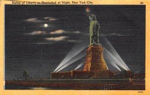 Statue of Liberty New York City, USA 1959