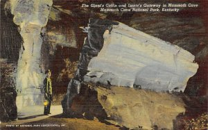 Caves Post Card Giant's Coffin and Dante's Gateway Mammoth Cave Nat...