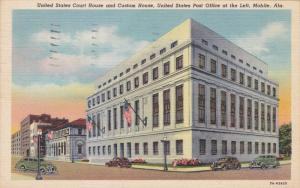 United States Court House And Custom House, Post Office, MOBILE, Alabama, PU-...