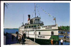 RMS Segwun, Steamboat Ferry Museum, Gravenhurst, Ontario,