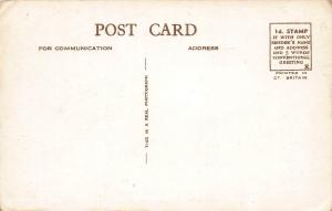 The Union Jack Club, London, England, Early Real Photo Postcard, Unused