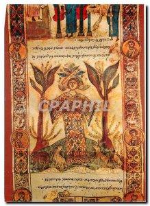 Postcard Modern Bari Exultet simboleggiata Terra da una figura di donna