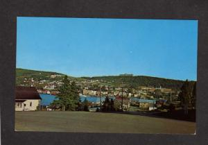 PQ QC View Gaspe Village City Quebec Canada Carte Postale Postcard Houses